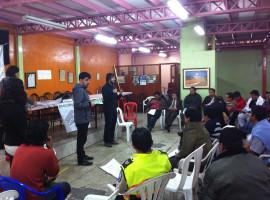 Presentación de la investigación y talleres participativos sobre el Mercado San Roque
