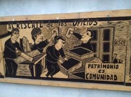 Taller sobre territorios y el Museo del Barrio de Yugay en Santiago de Chile. Defensa de memorias y patrimonios como comunes. Parte 2 de Economía del bien común en cultura y práctica territorial en Chile.