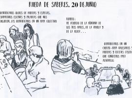 Acciones y procesos de Interficies: Plataforma de cultura y salud comunitaria. Febrero- Julio