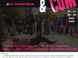 participamos en FACC&COM, feria de artes comuntarias de Barcelona